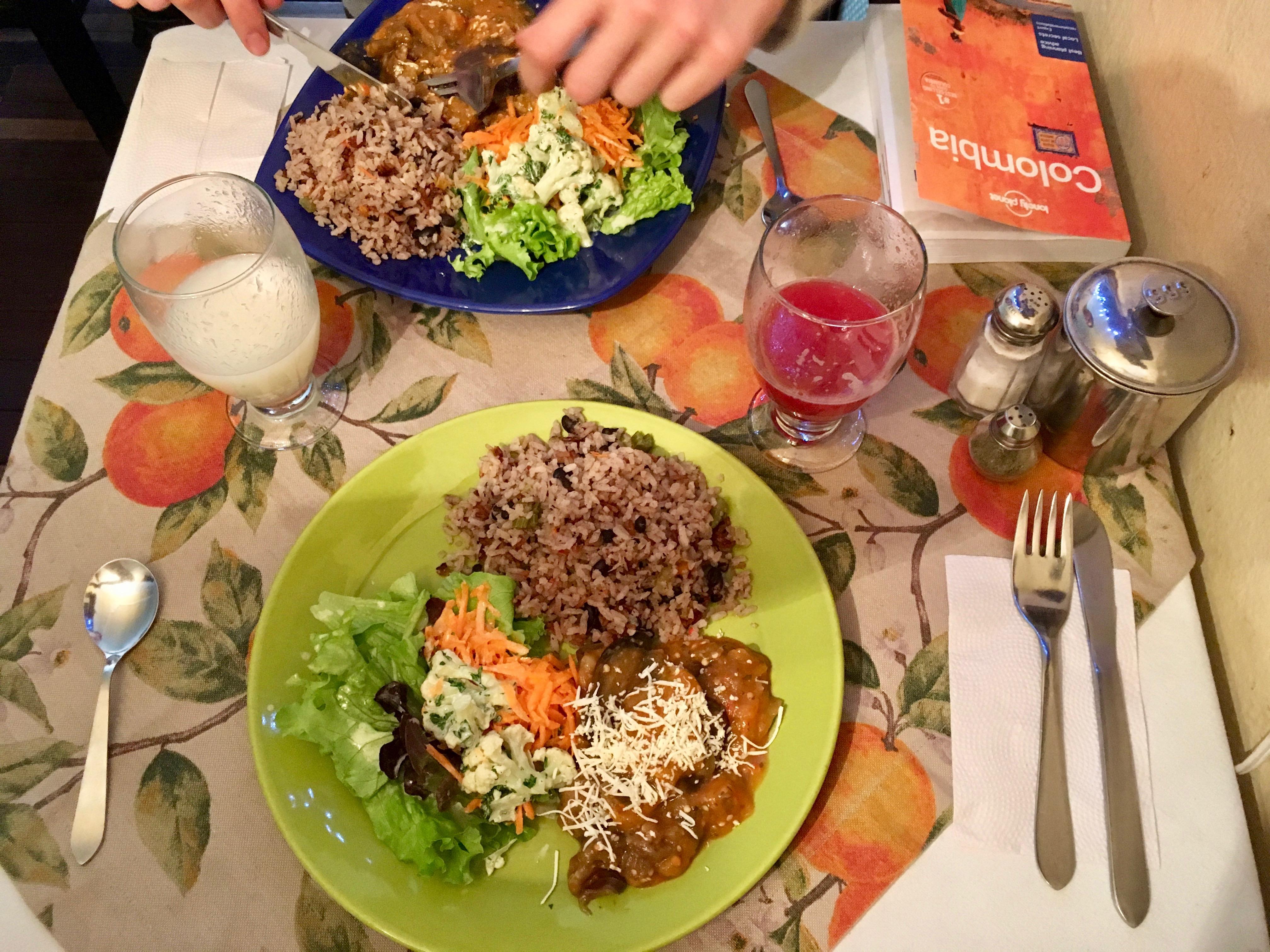 vegan restaurant in bogotá