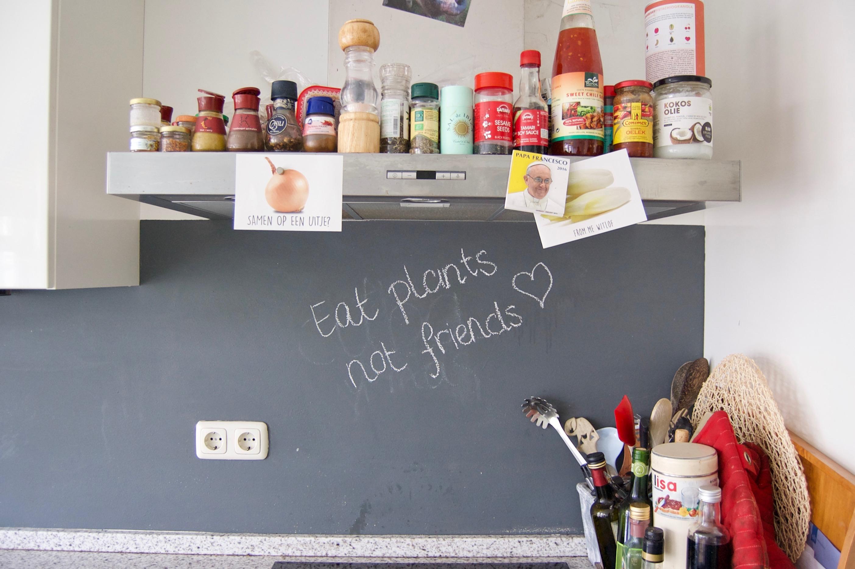 een kijkje in de keuken van lisa goes vegan1
