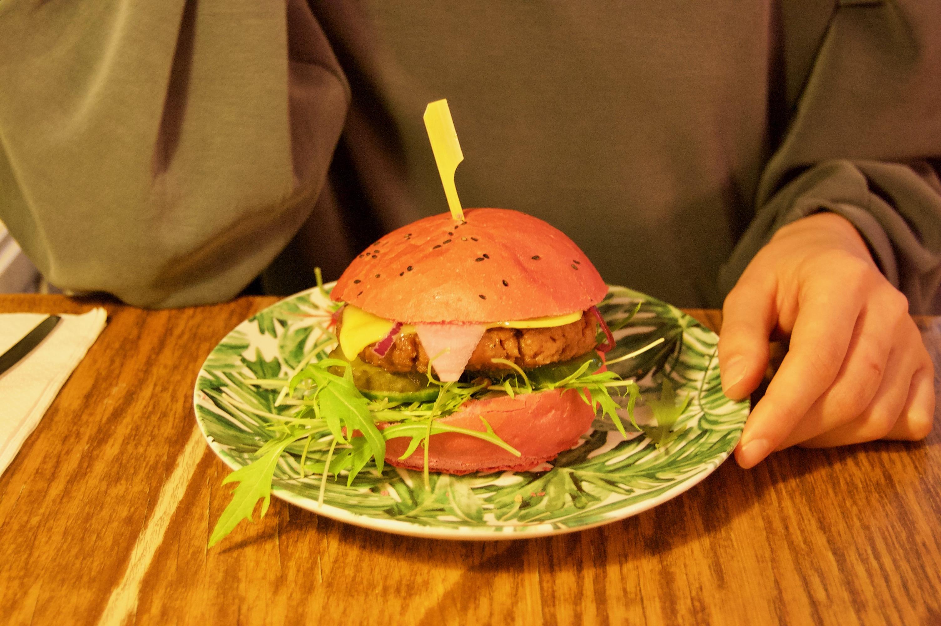 dophert vegan burger amsterdam