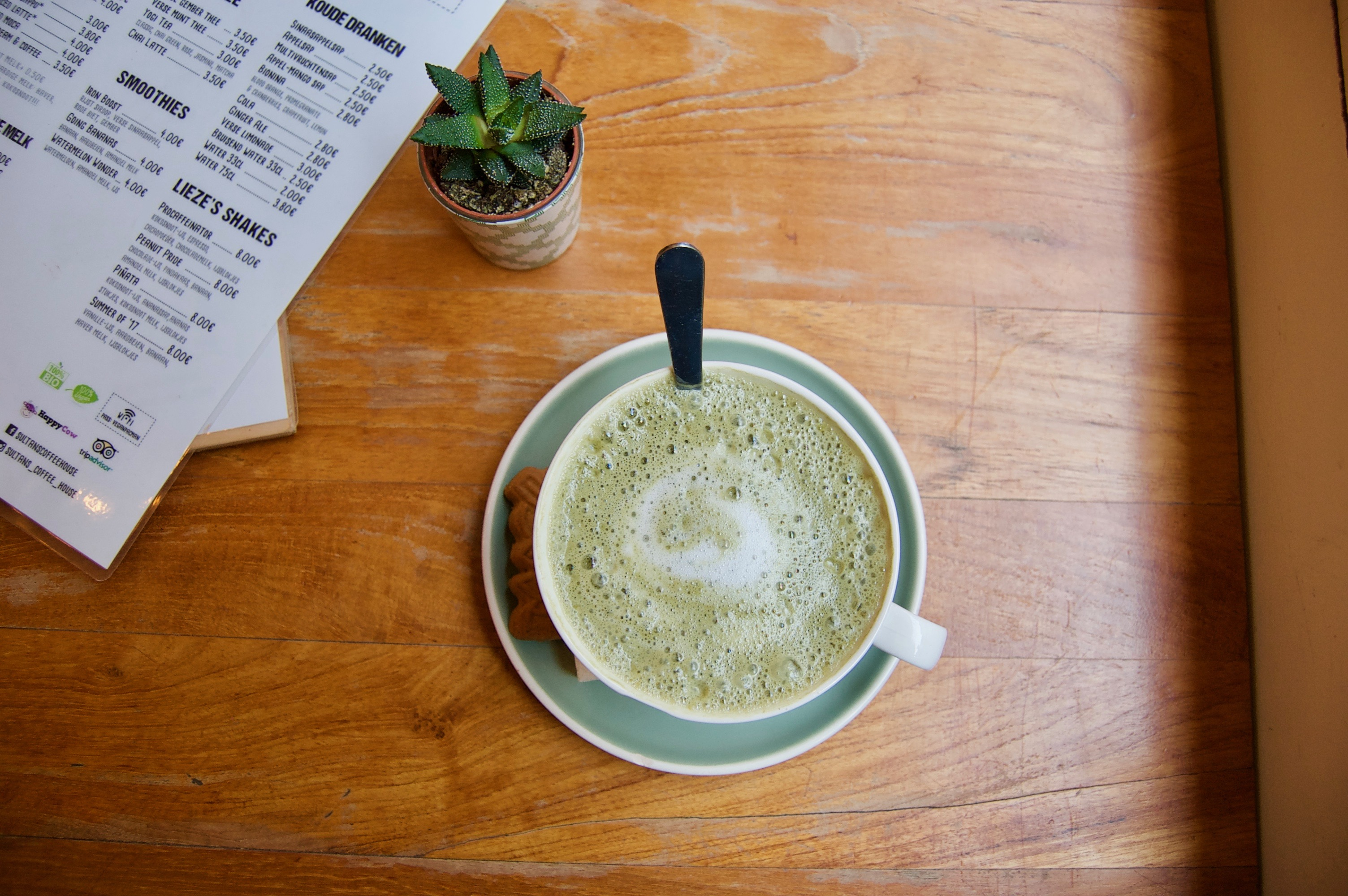 matcha latte sultans