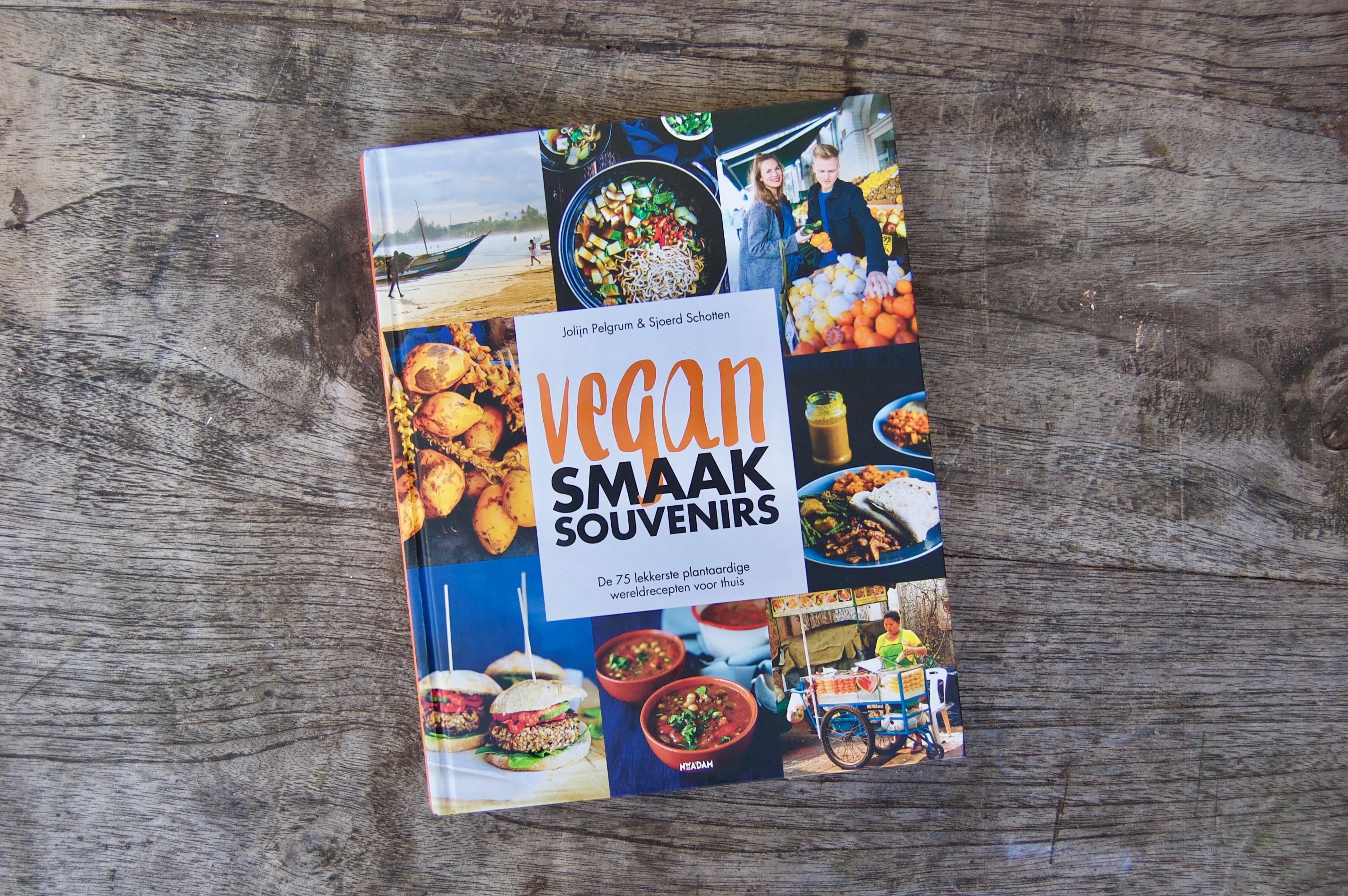 kookboek vegan smaaksouvenirs