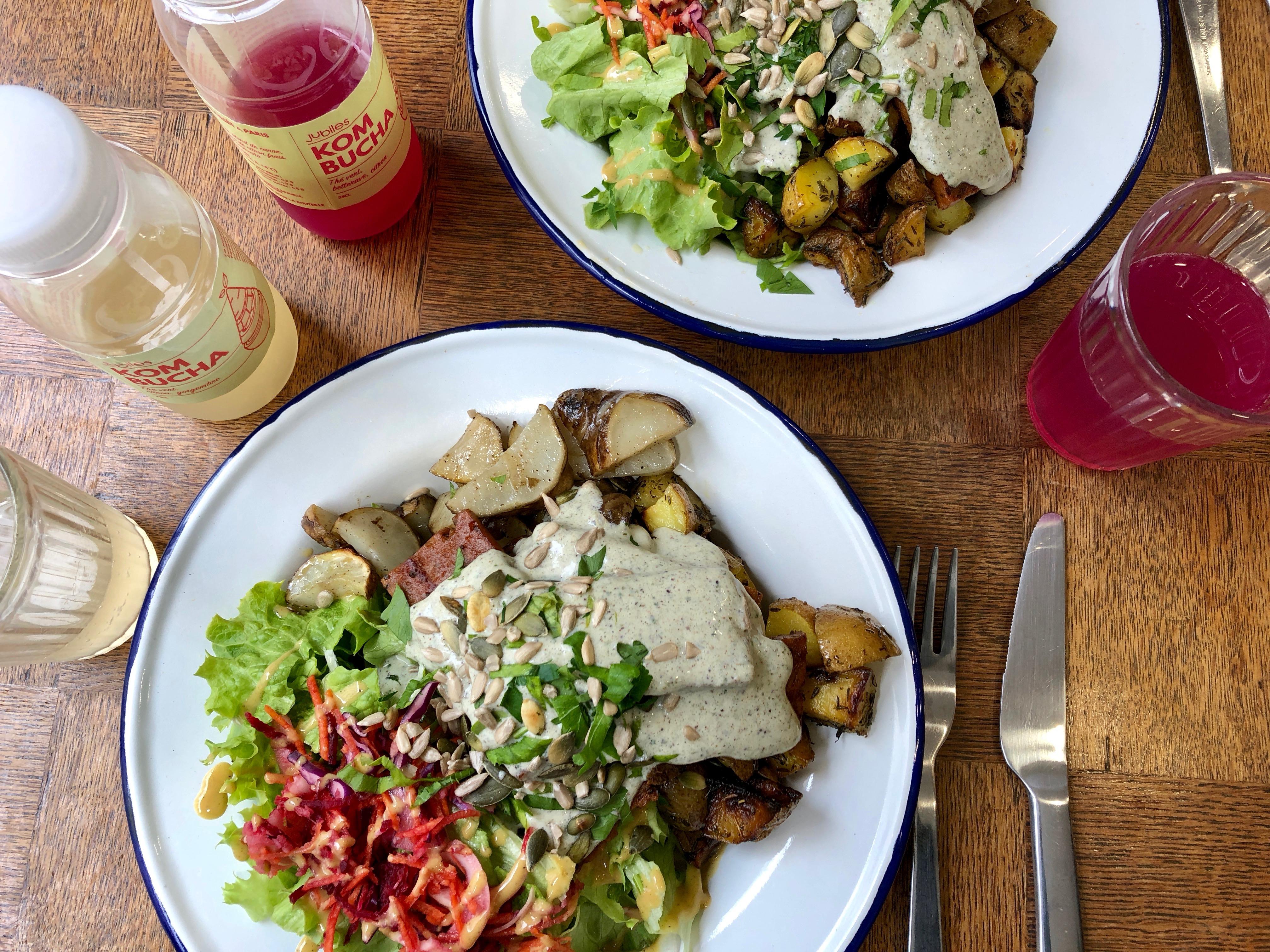 Aujourd'hui & Main vegan hotspot parijs